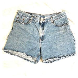 Vintage Levi's High-waisted Jean Shorts
